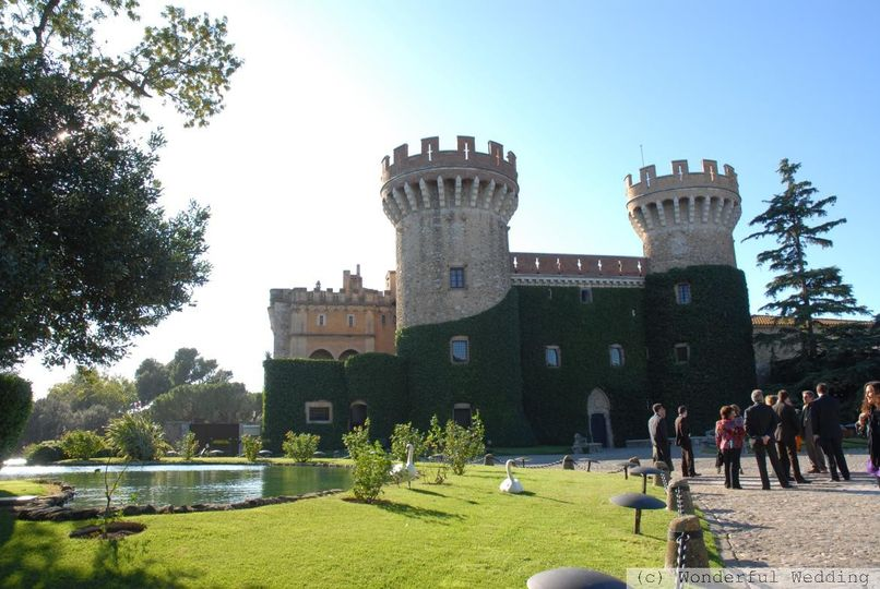 wedding castle
