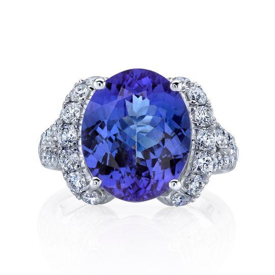 Mesmerizing blue hues