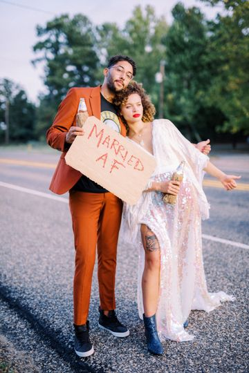Just married - Emily Catherine Photography