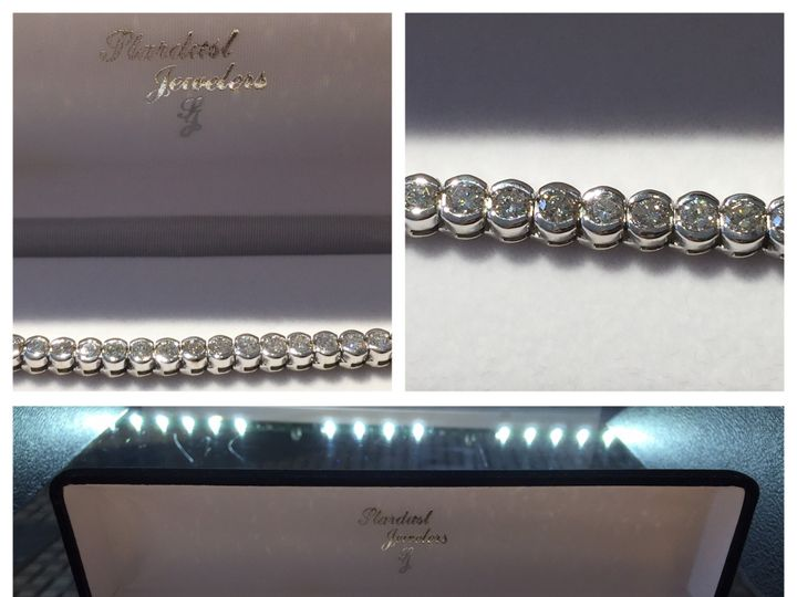 Tmx 1455311064118 Tennis Bracelet Mendon wedding jewelry