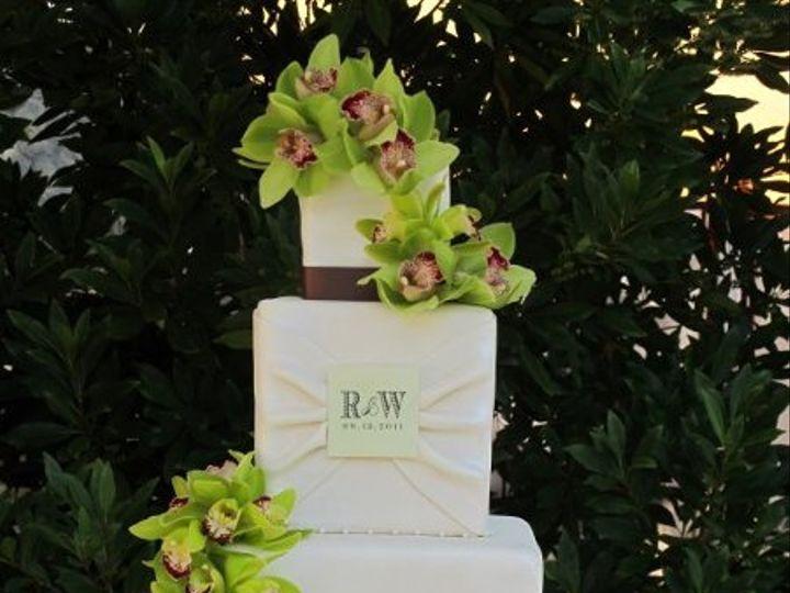 Tmx 1317854278051 RochelleWilliesWeddingCake Petaluma, CA wedding cake