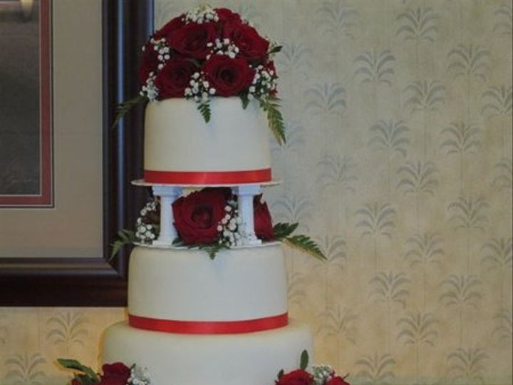 Tmx 1317854630457 FountainWeddingCake2471141926331112757107652570232128687884475n Petaluma, CA wedding cake