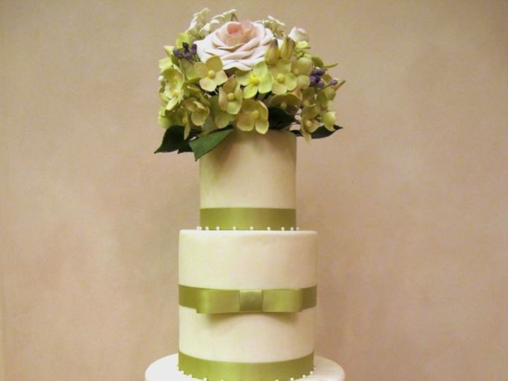 Tmx 1414107202137 Bridal Faire Cake Brightened Petaluma, CA wedding cake