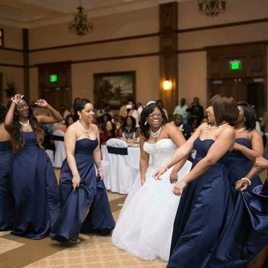 Brides and Bridesmaid Dance