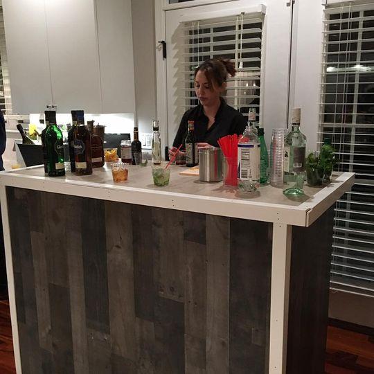 Talented bartenders