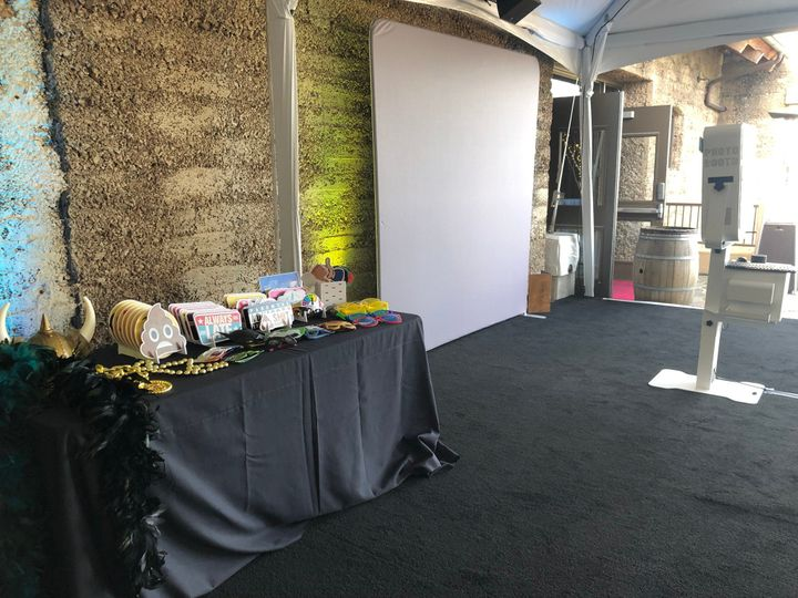 Open Air Deluxe Photo Booth