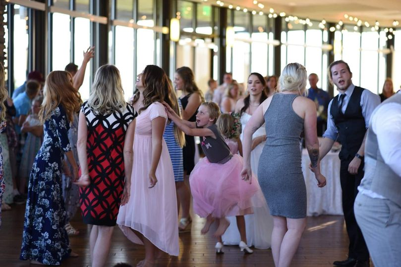 The dancing