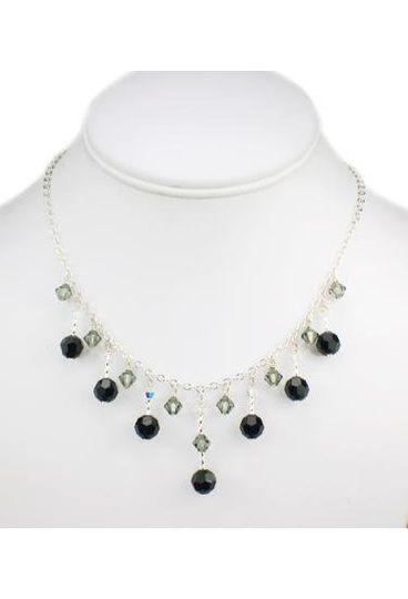 """Jordan"" Customizable Crystal Drop Necklace"