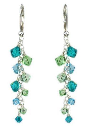 """Madison"" Customizable Crystal Earrings"
