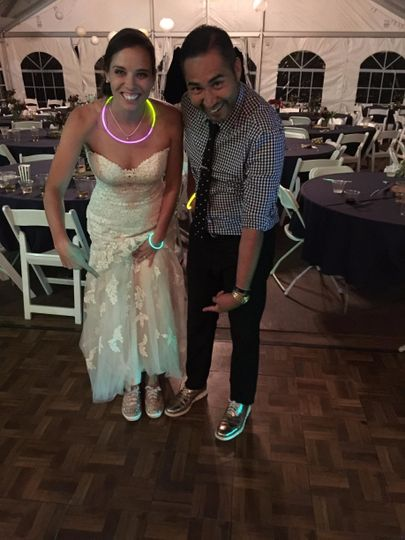 With A Bride