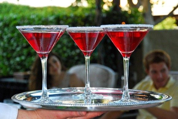 cocktails at a party full svs catering page