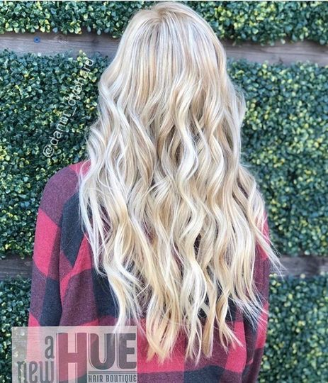 Icy Blonde + Extensions