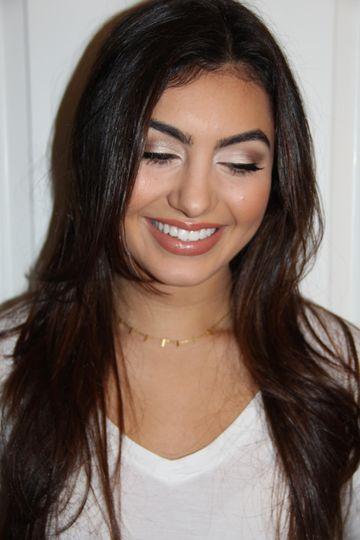 Brown Toned Eyeshadow