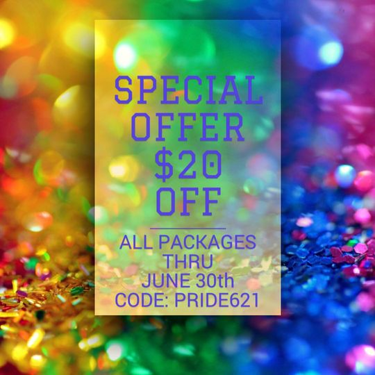 $20 OFF ENDS JUNE 30TH