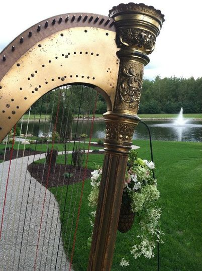 Private outdoor wedding