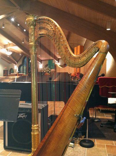 Harp and organ