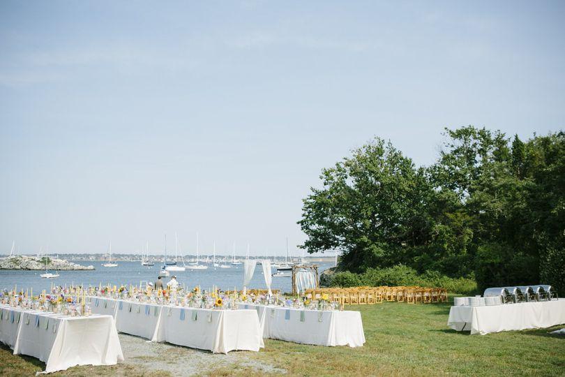 Wedding venue reception