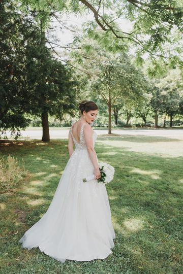 A bridal glance - Claudia V Ayala Photography
