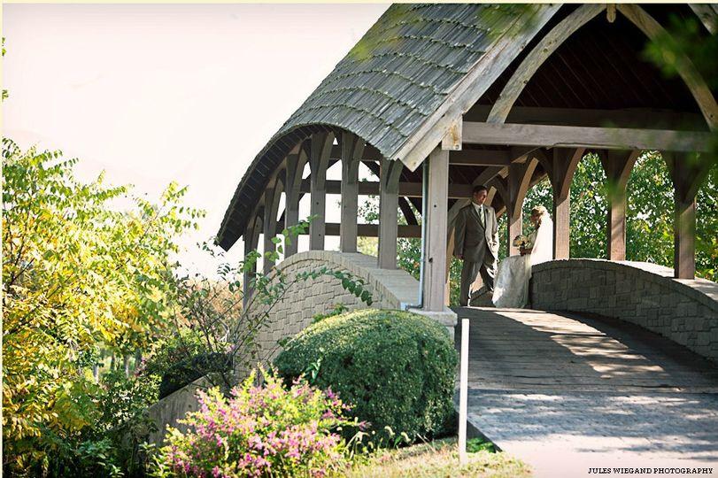 The wedding bridge