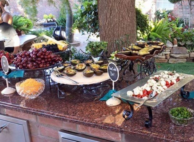 Exquisite Catering buffet options