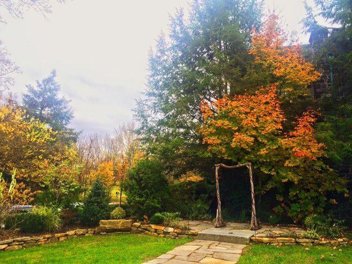 Fall in Homewood's Garden Ceremony Site