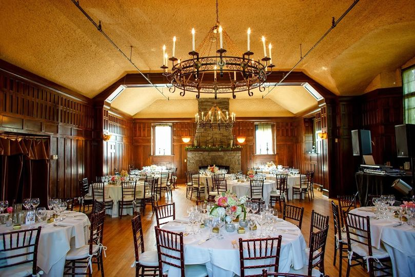 Great Room Wedding Reception at Homewood, Asheville NC