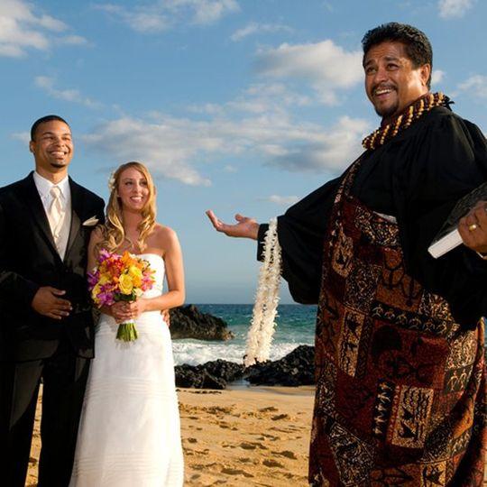 maui beach wedding makena cove