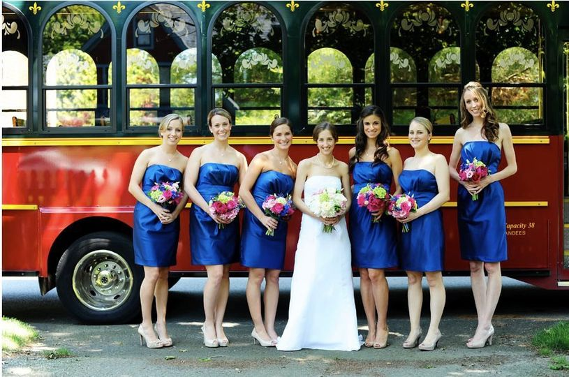 Bridal Party we serviced