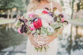 Poppies and Peonies Floral Design