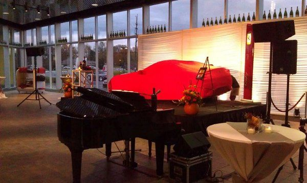 Scottie Alexnder performing LIVE at Ferrari of Troy, MI for Tom Celani.