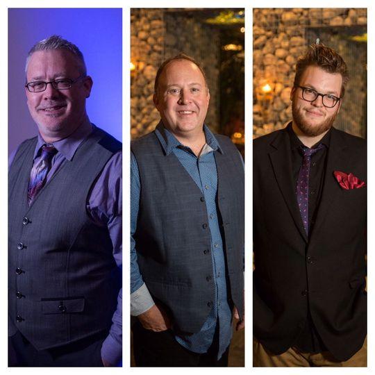 L to R: Kenny Privett, Scottie Alexander & Caleb Wimbrow