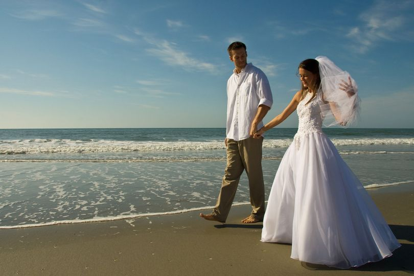 Our resort offers beach weddings for your perfect day.