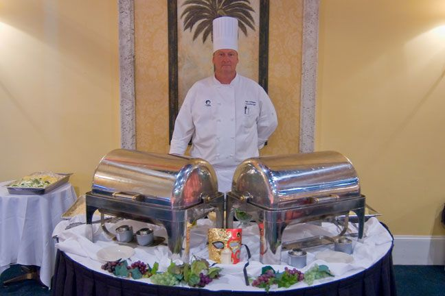 Let our catering team take care of all your needs.