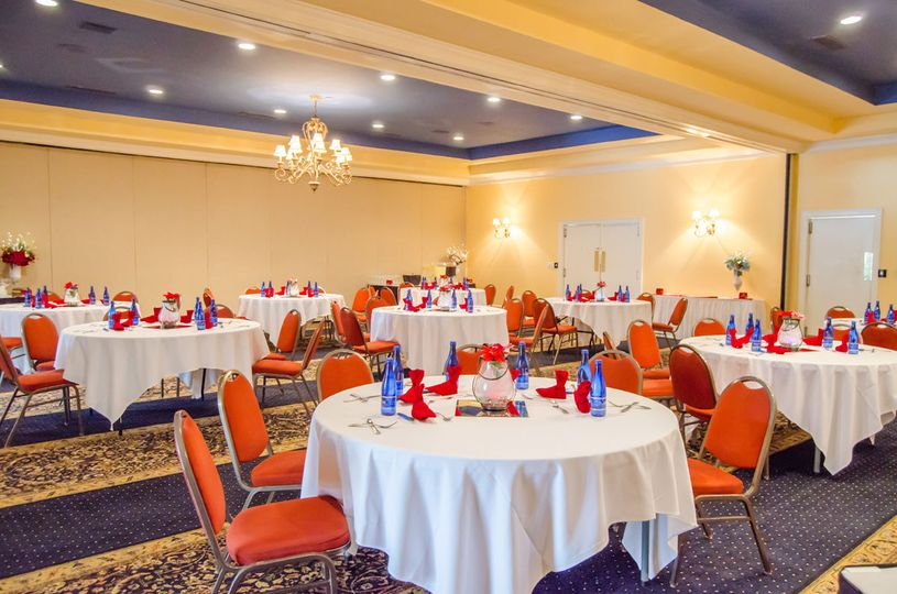 Our banquet spaces offer the perfect location for your wedding reception.