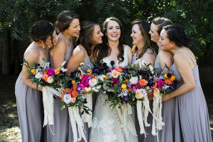 Bridal Party love and laughter