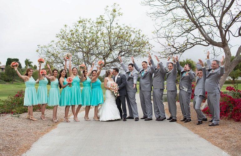 Bride with the bridesmaid