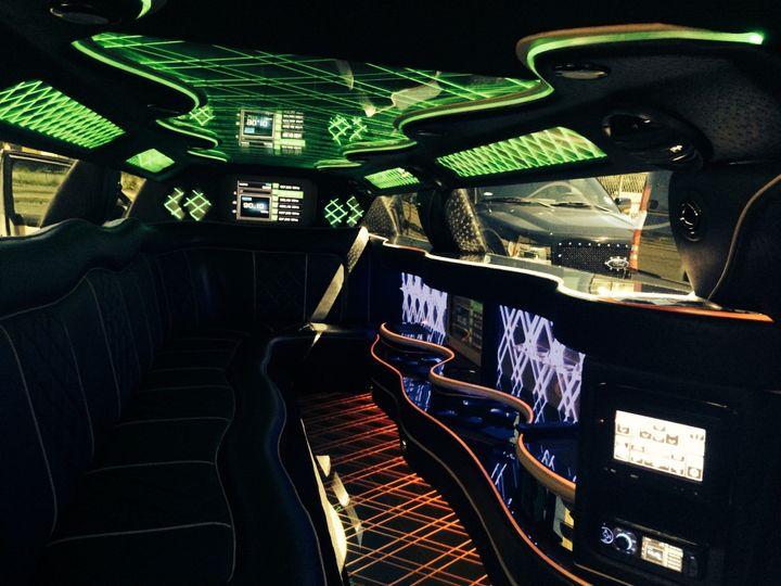 pax limo interior picture