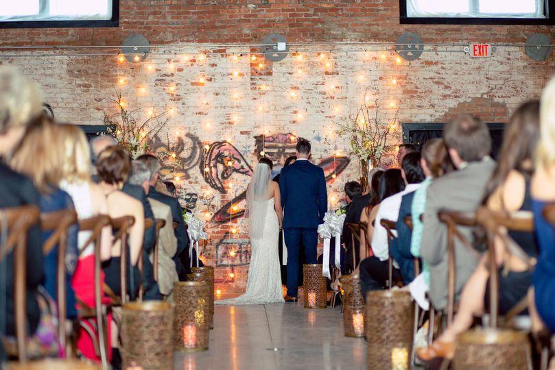 Athens Cotton Press wedding