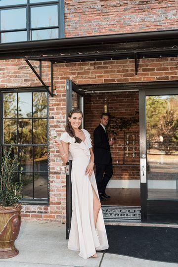 Athens Cotton Press bride