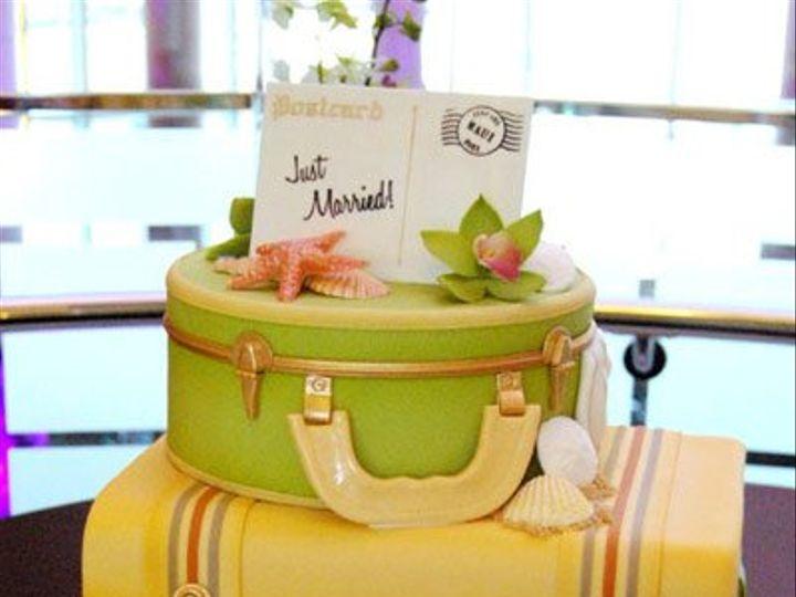 Tmx 1342505213601 GateauxBlueHawaiiMSP Minneapolis wedding cake
