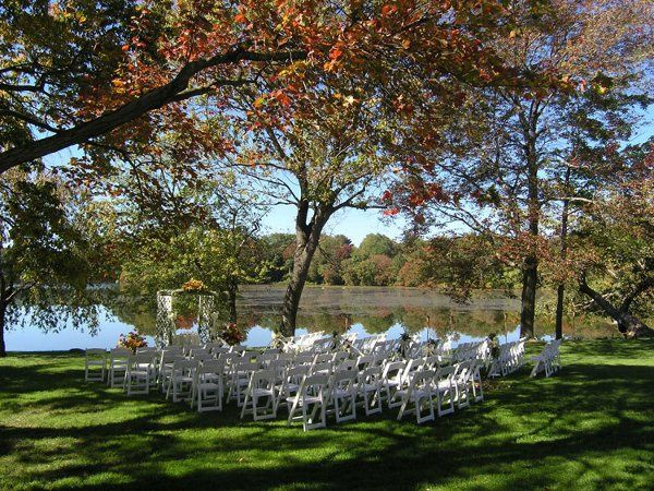 Lake-side venue