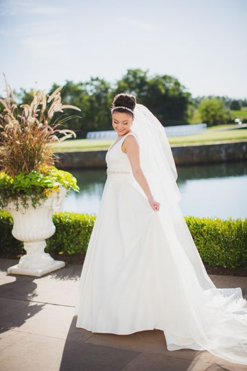 KV Texas Photo - Wedding portrait