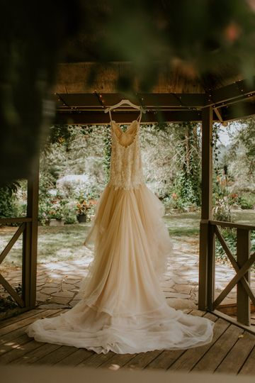 Wedding dress to die for