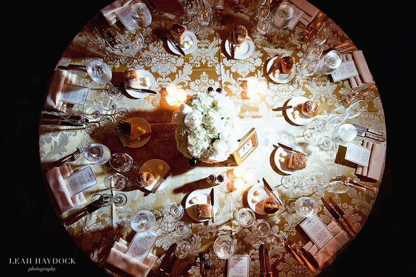 Round tables | Photo by Leah Haydock