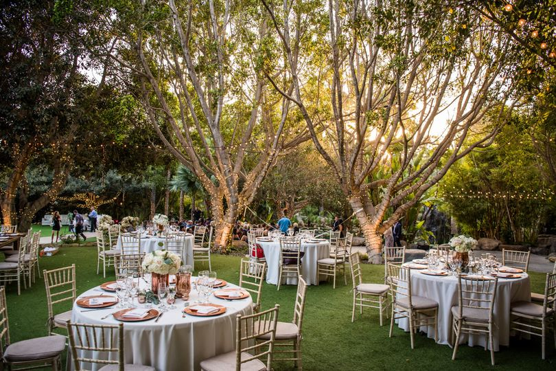 Outdoor Reception Space