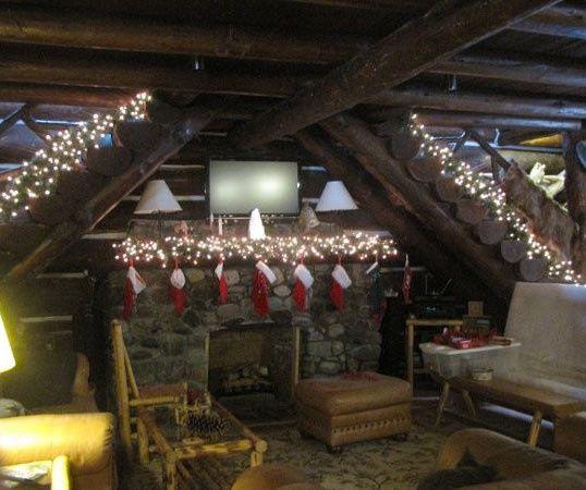 lodge christmas wedding