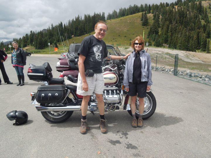 Tmx 1423249523488 Chris Karen Valkyrie Motorycle Berthoud Pass Denver, CO wedding officiant