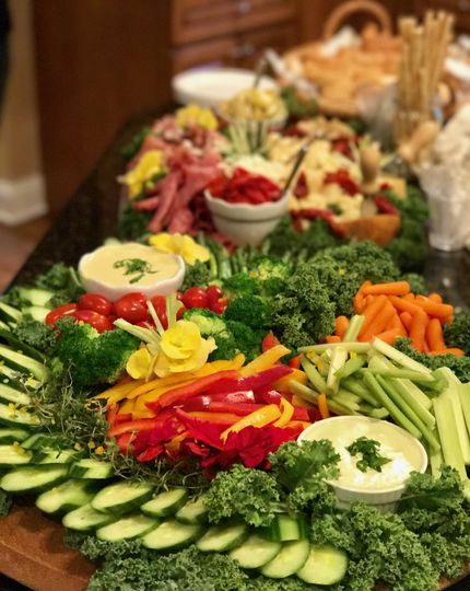 Vegetable crudites