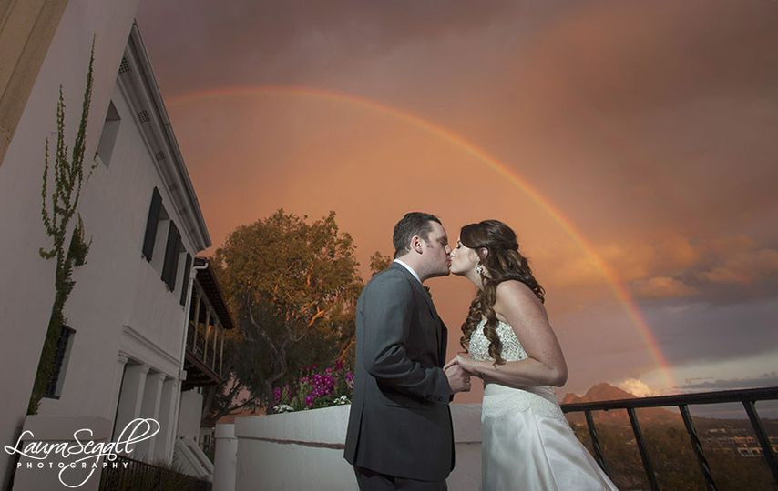 Rainbow wedding day