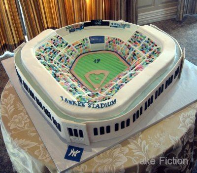 New Yankee Stadium Groom's Cake